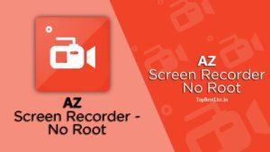 Free Download AZ screen recorder Apk Android